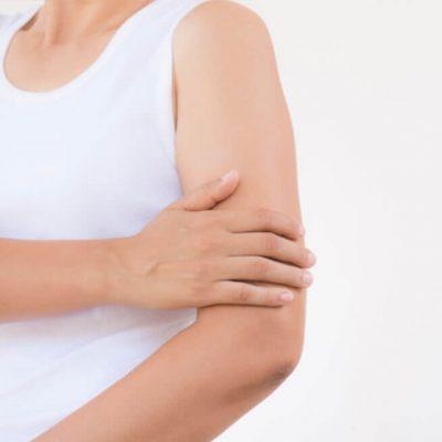 Lifting des bras avec cicatrice verticale