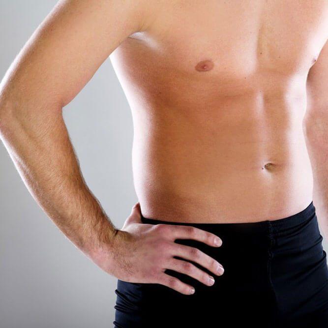 Liposuccion du ventre pour homme